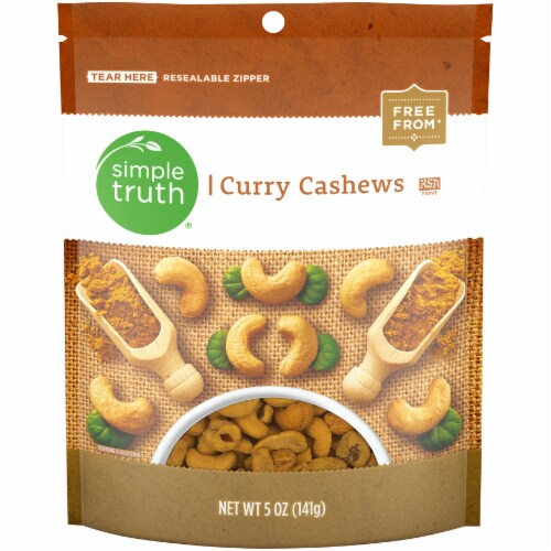 Simple Truth® Curry Cashews Perspective: front