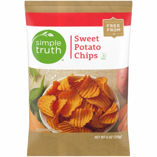 Simple Truth® Sweet Potato Chips Perspective: front