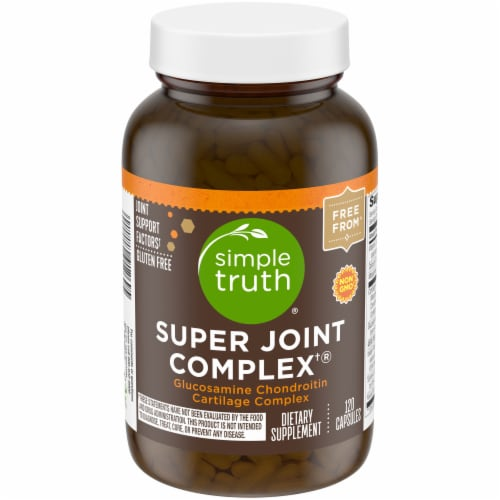 Simple Truth® Super Joint Complex Capsules 120 Count Perspective: front