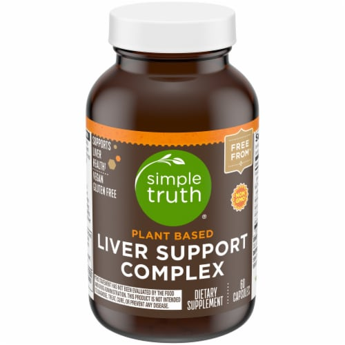 Simple Truth™ Plant Based Liver Support Complex Capsules Perspective: front