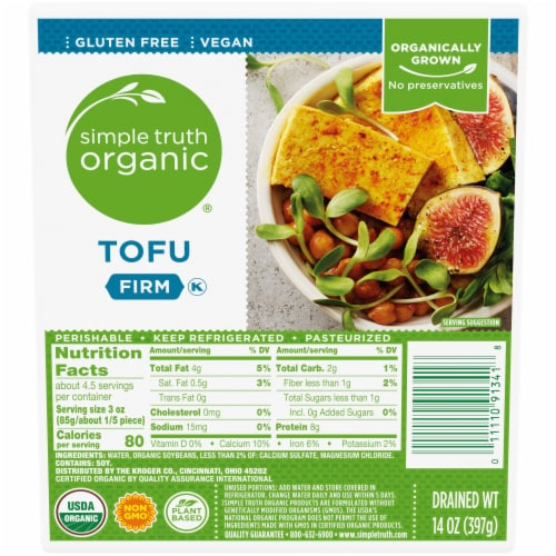 Simple Truth Organic® Firm Tofu Perspective: front