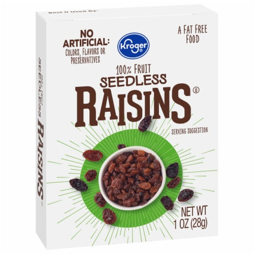 Kroger® Seedless Raisins Perspective: front