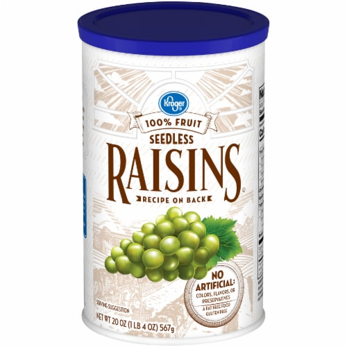 Kroger® Seedless Raisins Perspective: front