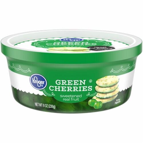 Kroger® Green Cherries Perspective: front