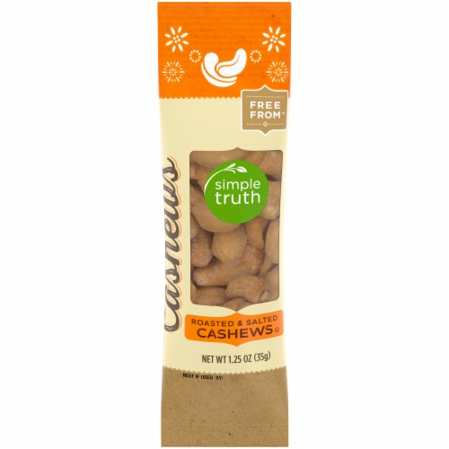 Simple Truth™ Roasted & Salted Cashews Perspective: front