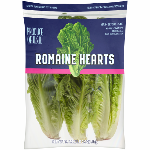 Kroger® Romaine Lettuce Hearts Perspective: front