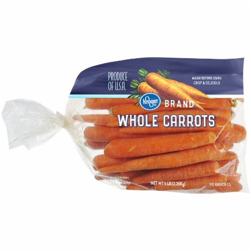 Kroger® Whole Carrots Perspective: front