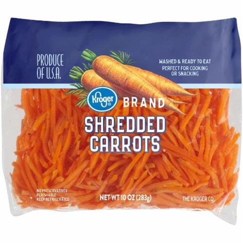 Kroger® Shredded Carrots Perspective: front