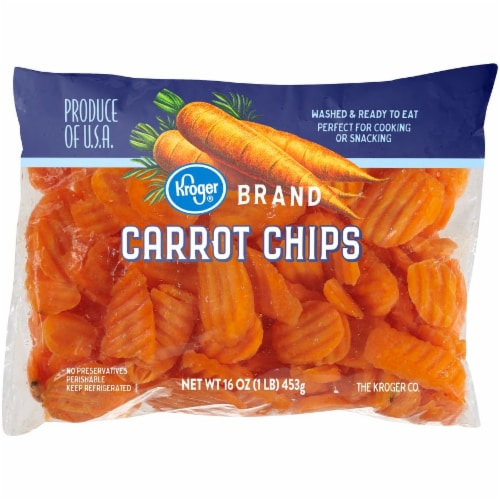 Kroger® Carrot Chips Perspective: front