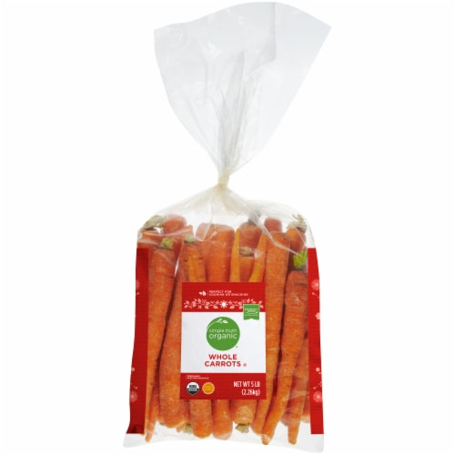 Simple Truth Organic® Whole Carrots Perspective: front