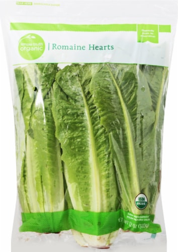 Simple Truth Organic™ Romaine Hearts Perspective: front