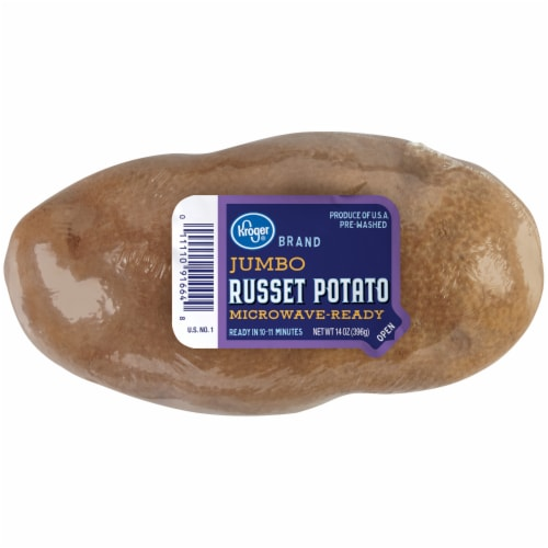 Kroger® Microwave-Ready Jumbo Russet Potato Perspective: front