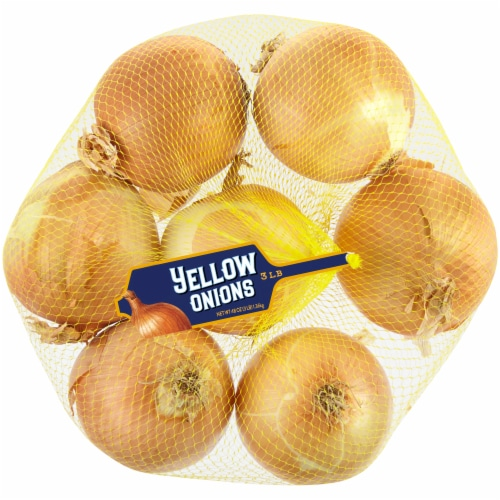 Kroger® Yellow Onions Perspective: front