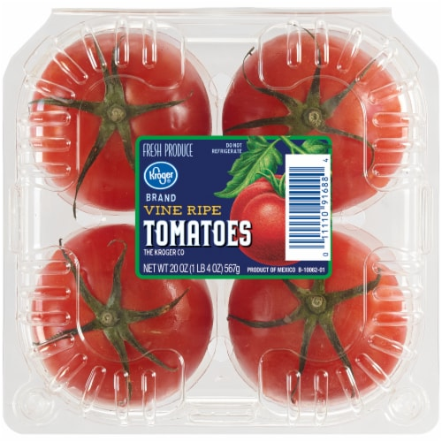 Kroger® Vine Ripe Tomatoes Perspective: front