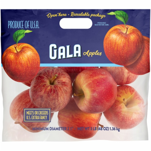 Kroger® Gala Apples Bag Perspective: front