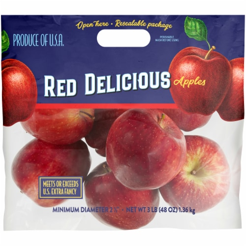 Kroger® Red Delicious Apples Perspective: front