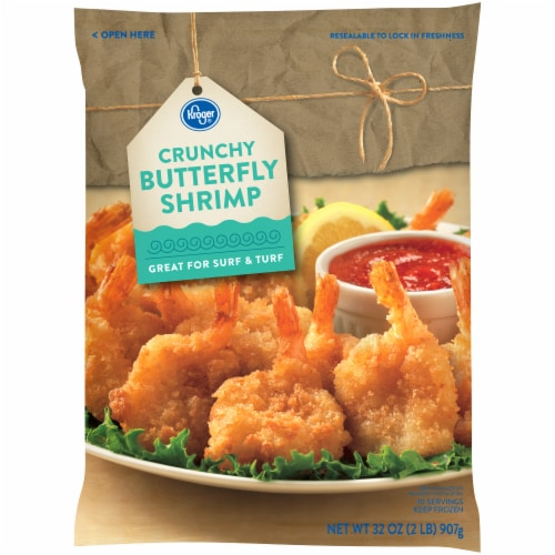 Kroger Kroger Crunchy Butterfly Shrimp 32 Oz
