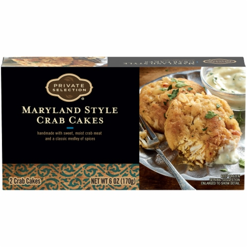 Private Selection® Maryland Style Crab Cakes Perspective: front