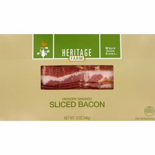 Heritage Farm™ Hickory Smoked Sliced Bacon Perspective: front