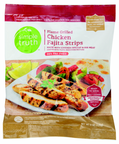 Simple Truth™ Flame Grilled Chicken Fajita Strips Perspective: front