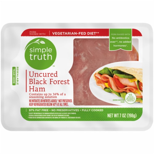 Simple Truth™ Uncured Black Forest Ham Lunch Meat Perspective: front