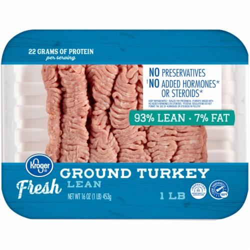 Kroger® 93% Lean Fresh Ground Turkey Perspective: front
