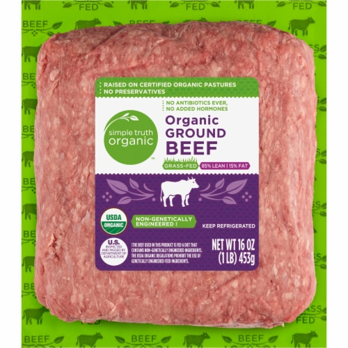 Kroger - Simple Truth Organic™ Grass Fed Ground Beef 85