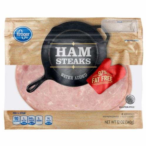 Kroger® Ham Steaks Perspective: front