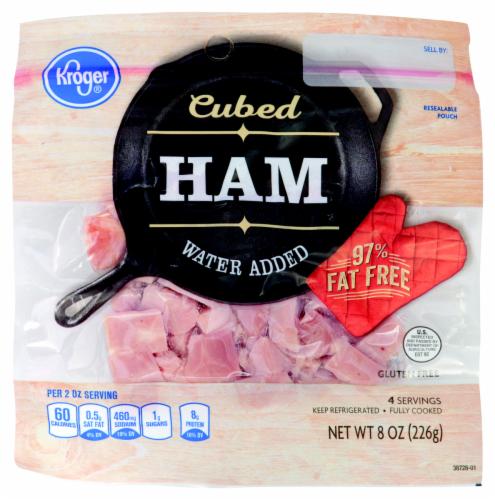 Kroger® Cubed Ham Perspective: front
