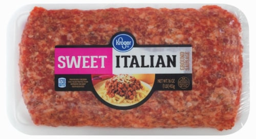 Kroger® Sweet Ground Italian Sausage Perspective: front