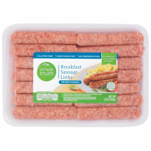 Simple Truth™ Traditional Breakfast Sausage Links Perspective: front