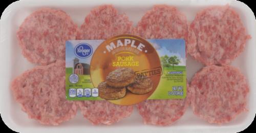 Kroger® Maple Pork Sausage Patties Perspective: front