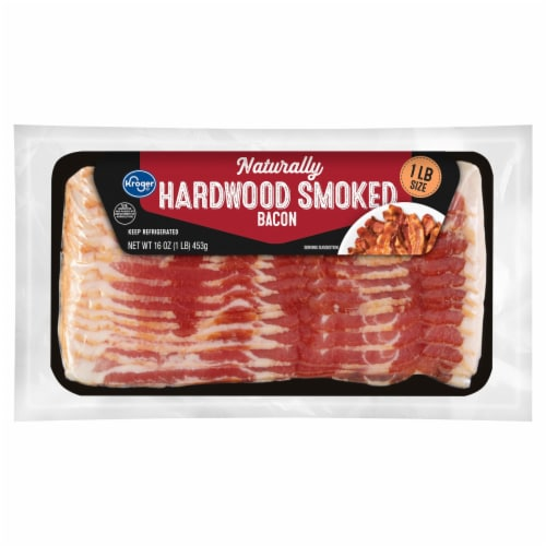Kroger® Naturally Hardwood Smoked Bacon Perspective: front