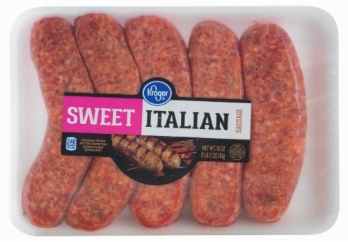 Kroger® Sweet Italian Sausage Perspective: front
