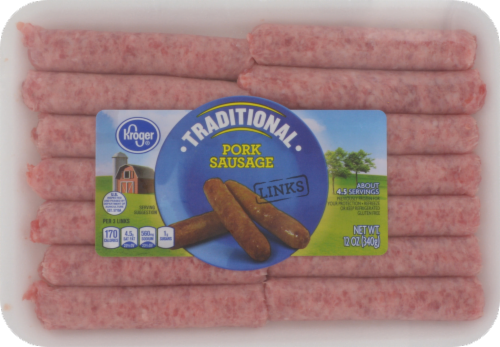 Kroger® Original Breakfast Sausage Links Perspective: front
