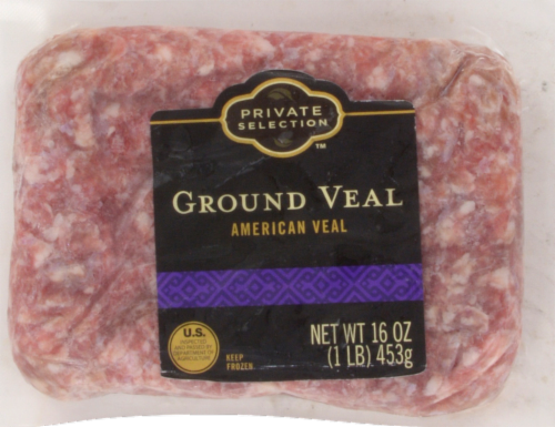 Private Selection® Ground Veal Perspective: front