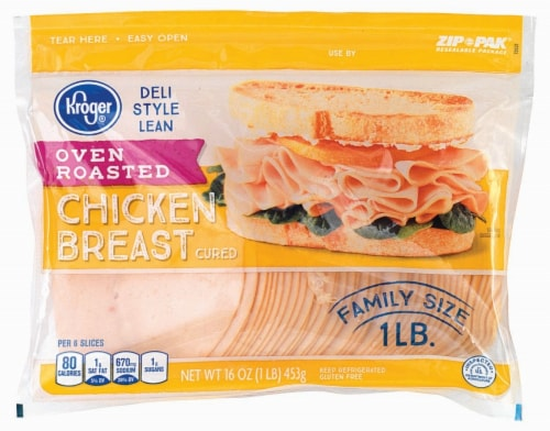 Kroger® Deli Style Oven Roasted Chicken Breast Perspective: front