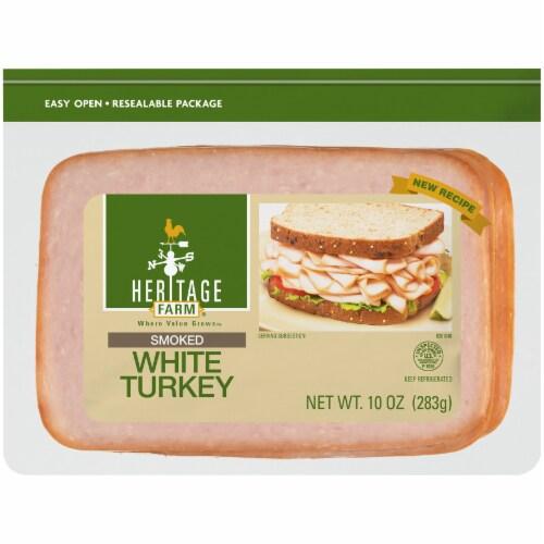 Heritage Farm® Smoked White Turkey Perspective: front