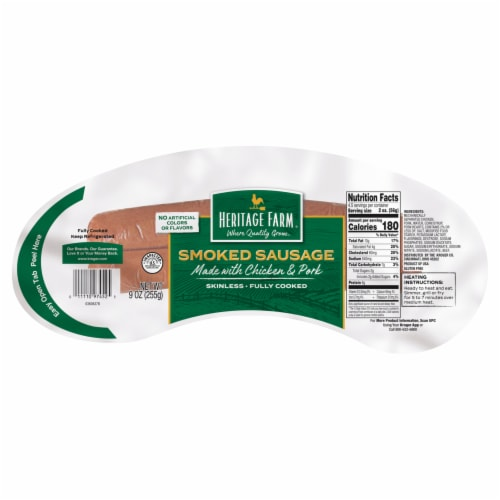 Heritage Farm™ Smoked Sausage Perspective: front