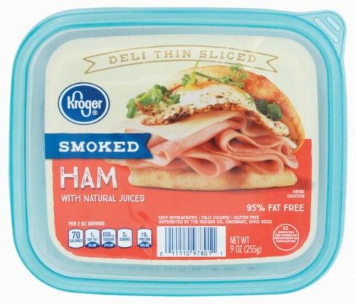 Frys Kroger Deli Thin Sliced Smoked Ham