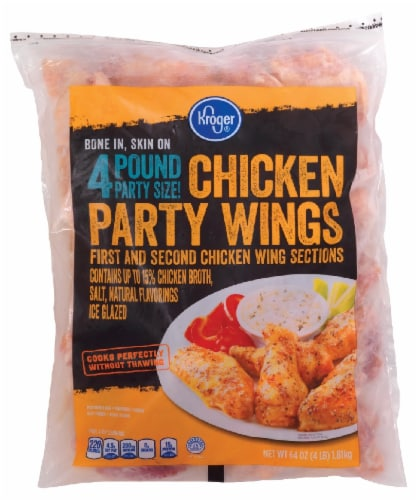 Kroger® Chicken Party Wings Perspective: front