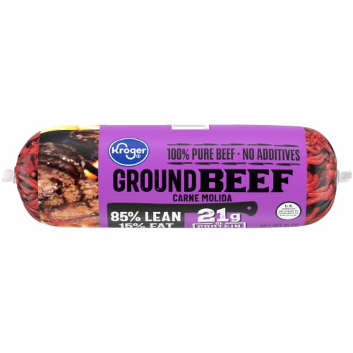 Kroger® 85% Lean Ground Beef Perspective: front