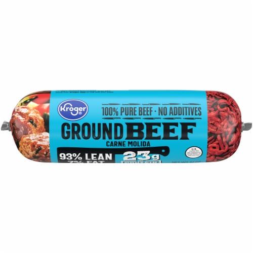Kroger® 93% Lean Ground Beef Perspective: front