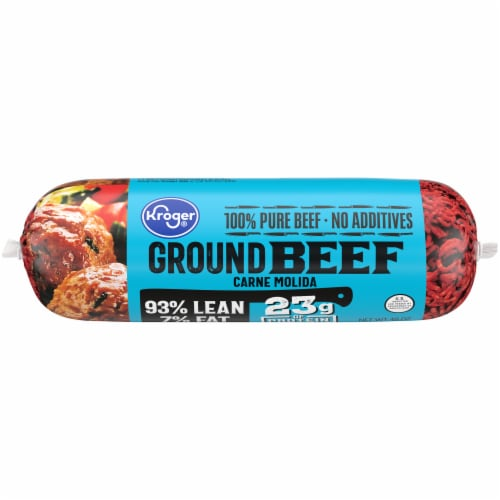 Kroger® Ground Beef 93% Lean Perspective: front