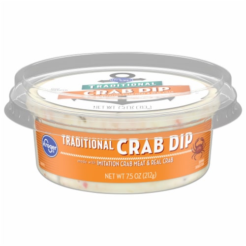 Kroger® Traditional Crab Dip Perspective: front