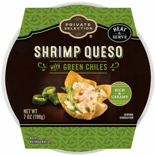 Private Selection® Shrimp Queso Dip Perspective: front