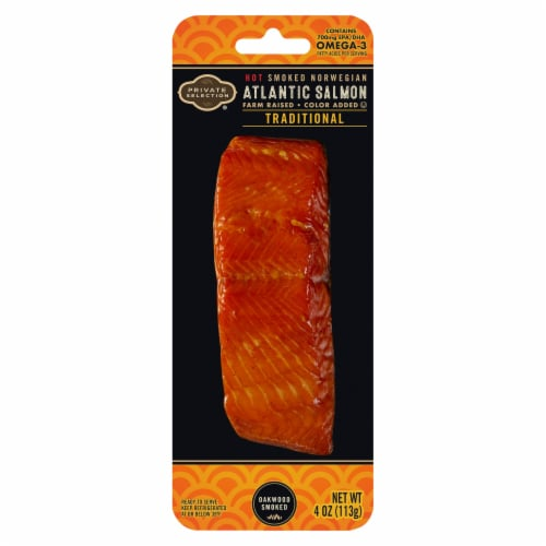 Private Selection® Traditional Smoked Norwegian Atlantic Salmon Perspective: front