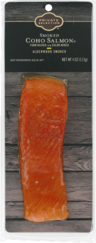 Private Selection™ Smoked Coho Salmon Perspective: front