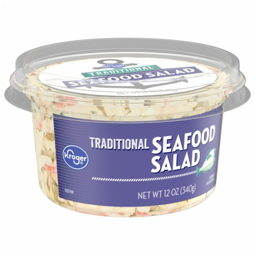 Kroger® Traditional Seafood Salad Perspective: front