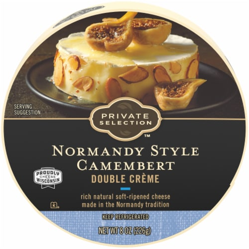 Private Selection™ Double Creme Normandy Style Camembert Perspective: front